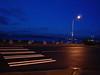 Alki Beach in blue