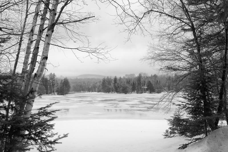 Lake Abanakee in the Adirondacks