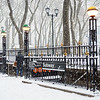 Bryant Park Subway Snow