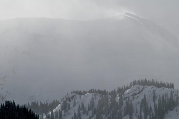 Gunsight Pass Snowstorm
