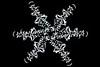 I built this snowflake from a snowflake spoke I shot.