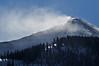 Snow Plumes near Gunsight Pass