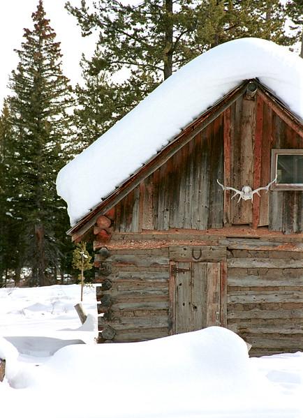 Remote cabin - Galena, Idaho