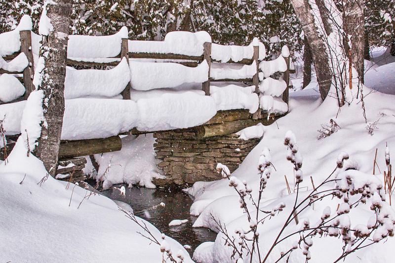 Winter's Snow at Ironton