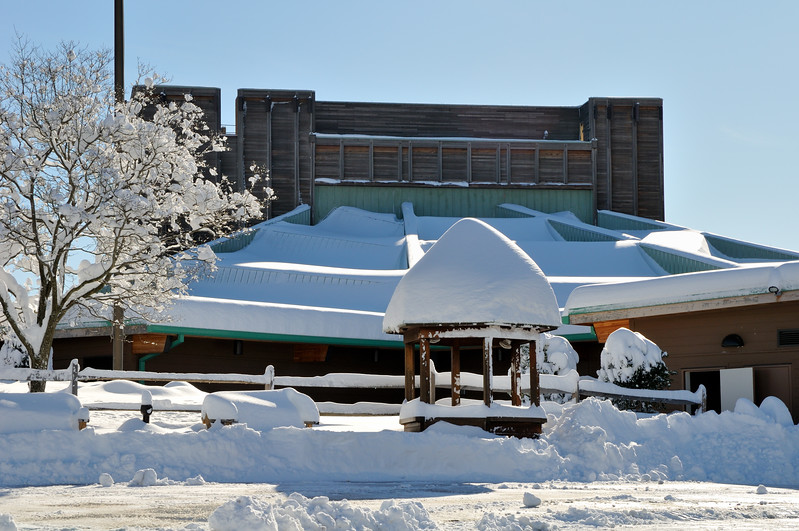 Real snow loads - the stage at Wolf Trap