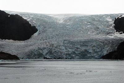 Glacier in Greenland.