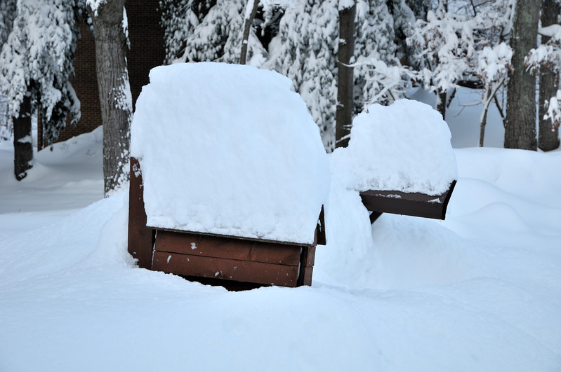Buried mailboxes