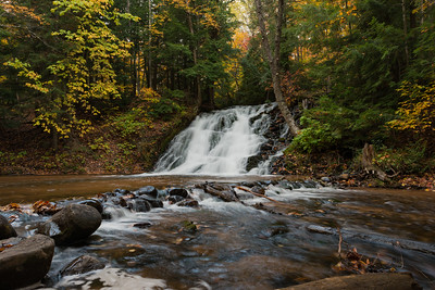 Fall At Morgan Falls