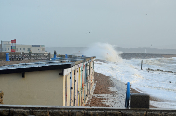 2014 arrives with storms, gale force winds and flooding