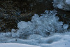 Detail of river ice