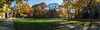 Featured:  Panorama of the inside of the Law Quad