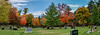 Fall color panorama