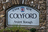 Colyford sign, 30th September 2016.