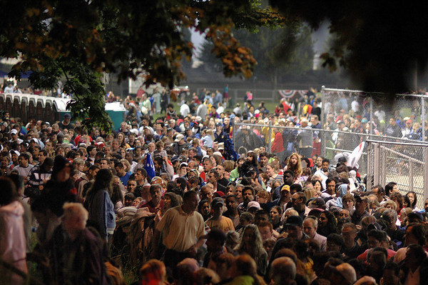 Lynnwood Fireworks 2006