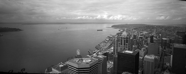 Elliot Bay and Downtown Seattle