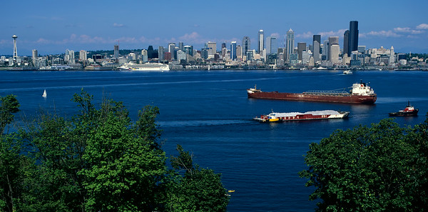 Many Ships in Elliott Bay