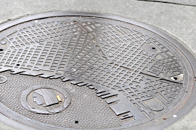 City of Seattle Manhole Cover