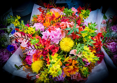 Flowers sold at Pikes