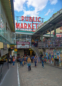 9 am  at Pike's Place Market