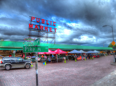 Pike's Place  is one of the oldest continuously operated public farmers' markets in the United States