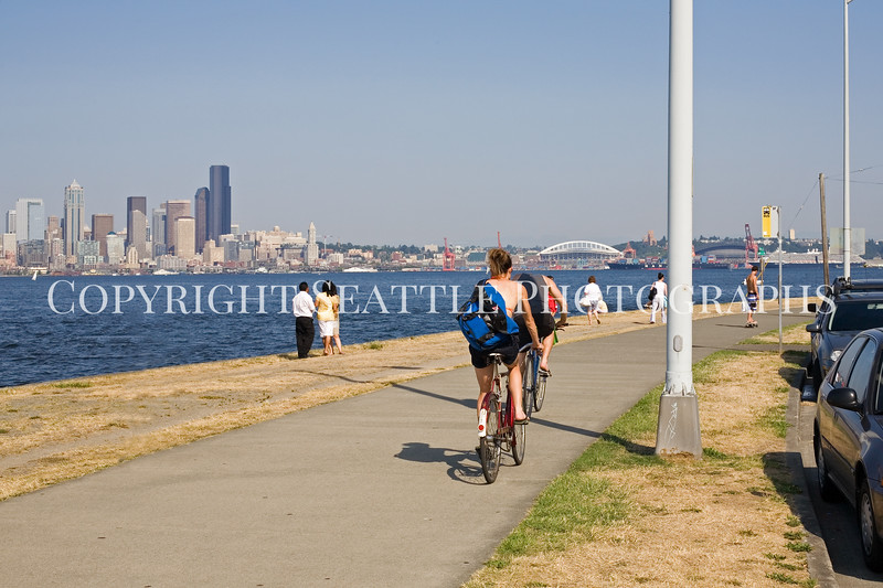 Alki Beach Cycling 111