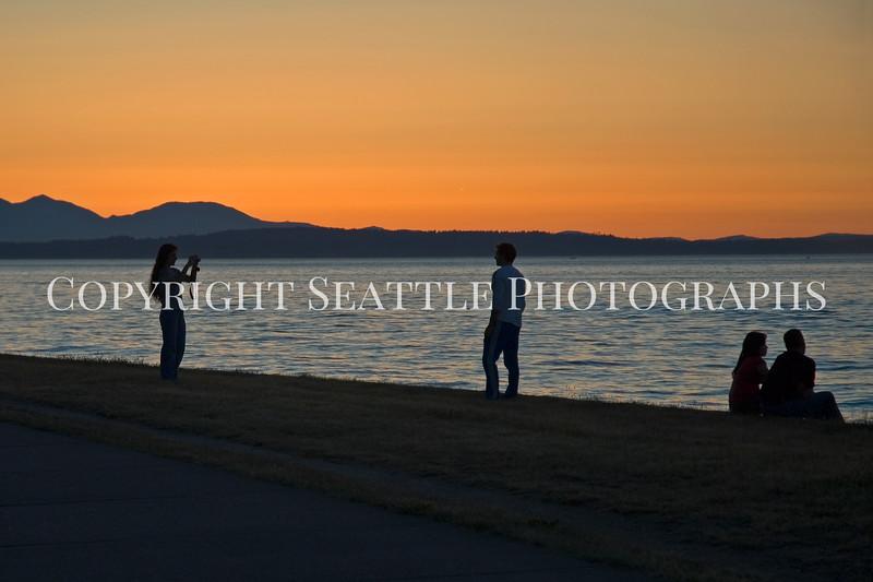 Alki Beach Sunset 7