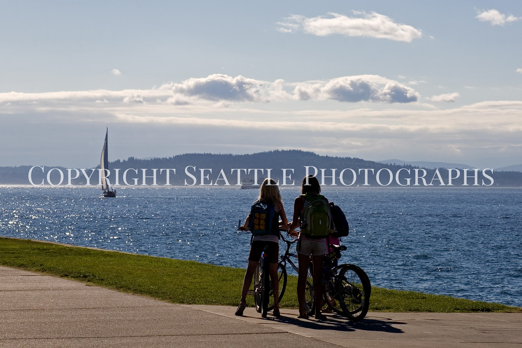Alki Beach Cycling 104