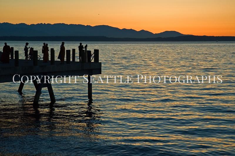Alki Beach Sunset 4