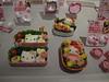 Hello Kitty-shaped food.