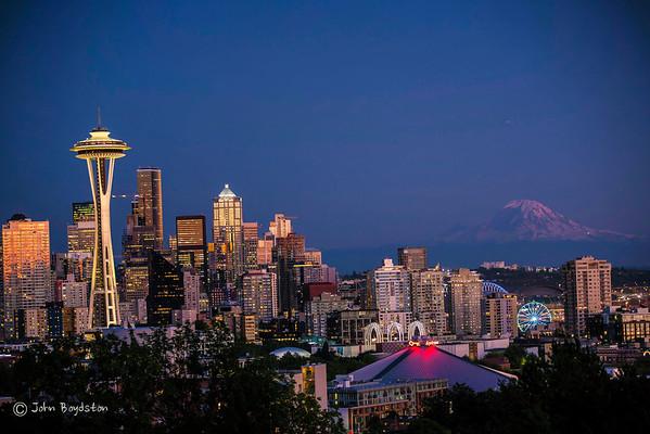 Seattle August 2016