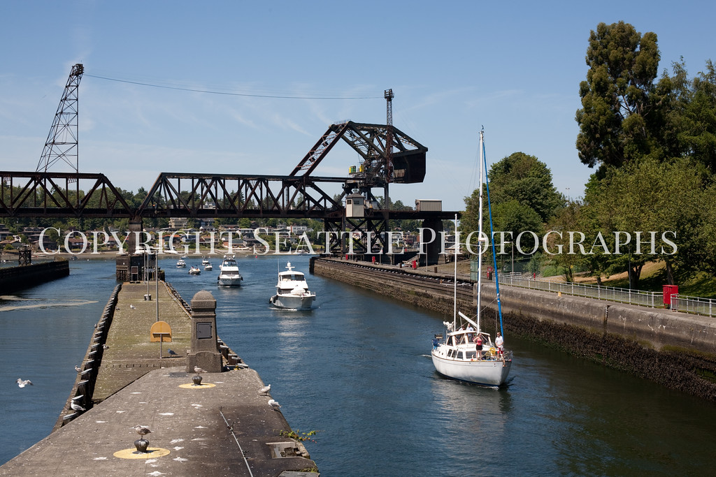 Ballard Locks Boats 110