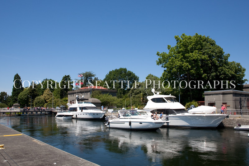 Ballard Locks Boats 114