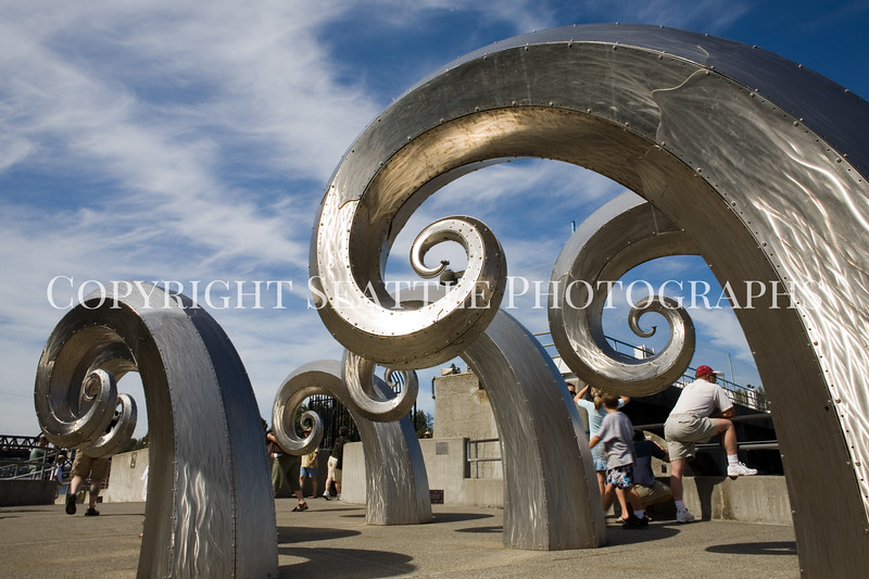 Ballard Locks Sculpture 114
