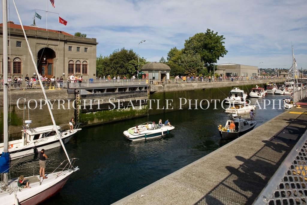 Ballard Locks Boats 104