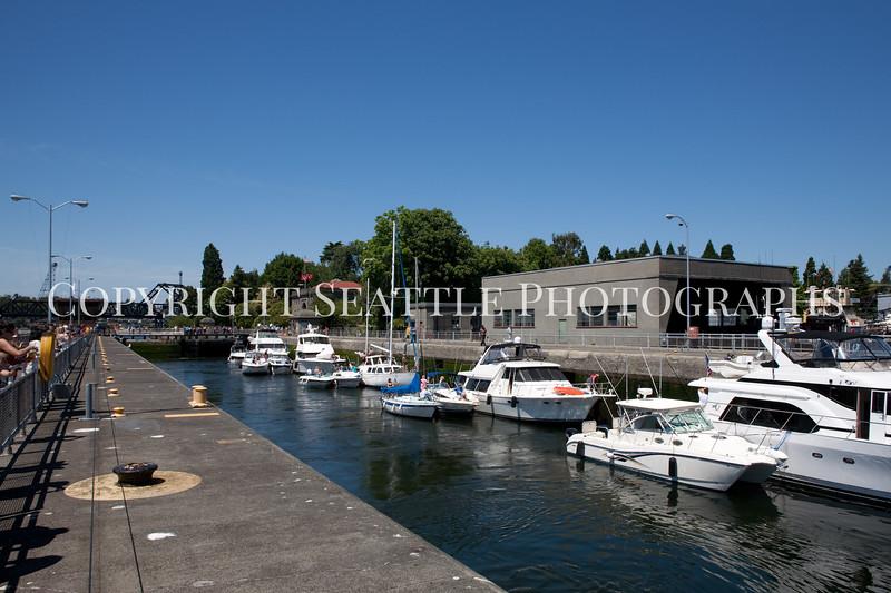 Ballard Locks Boats 113