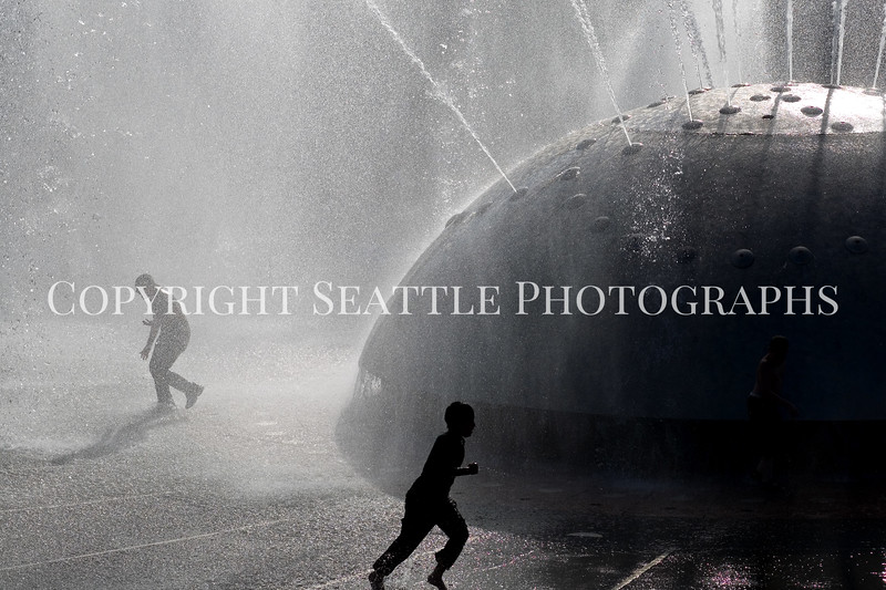 Seattle Center Fountain Spray 112