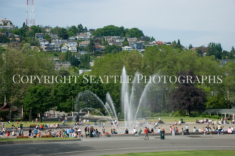 Seattle Center Fountain 1