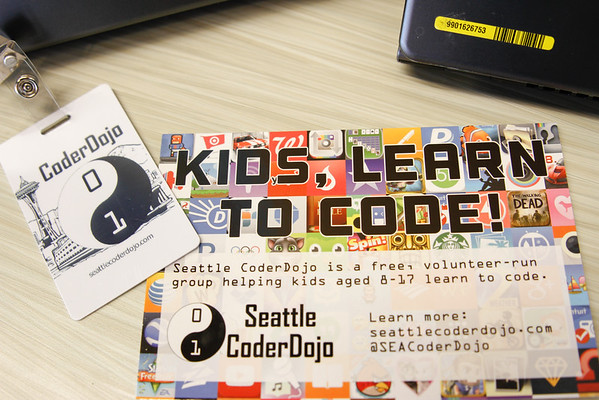 Seattle Coder Dojo Photos