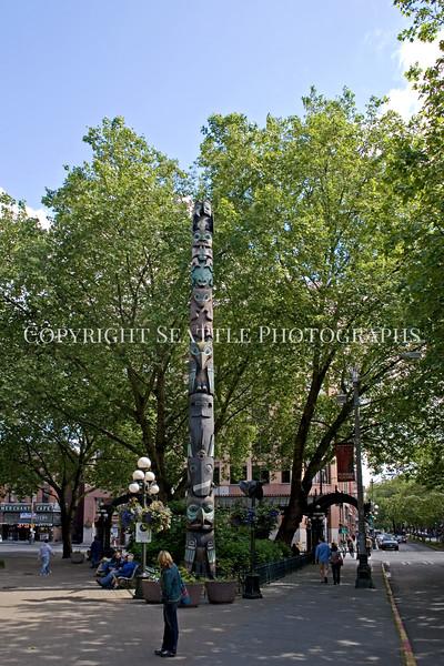 Pioneer Square Totem Pole 101