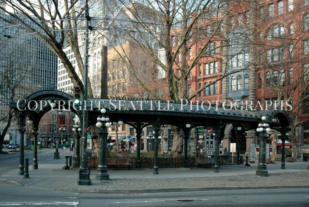 Pioneer Square Pergola 39