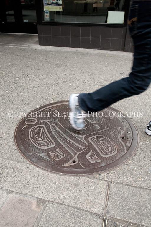 Manhole Cover Art 130