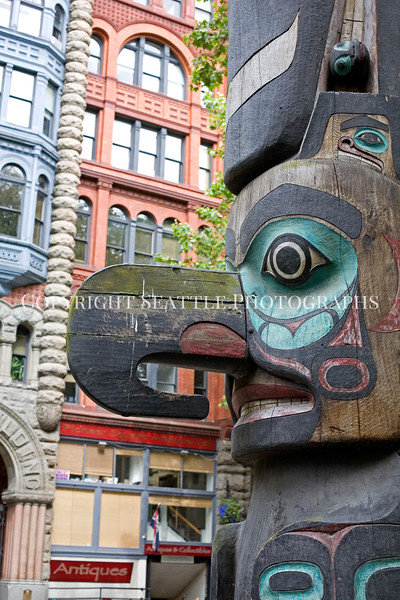 Pioneer Square Totem Pole 107