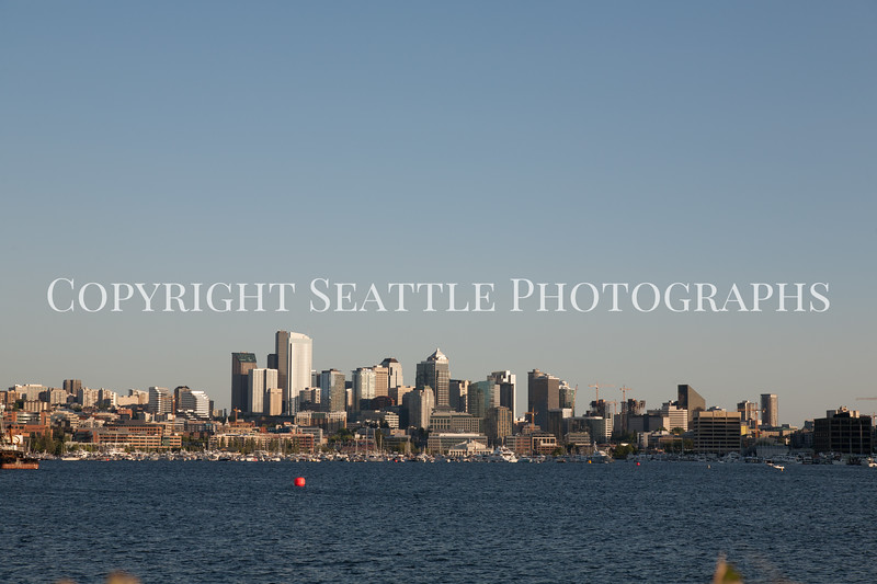 Downtown Seattle from Gasworks Park 110