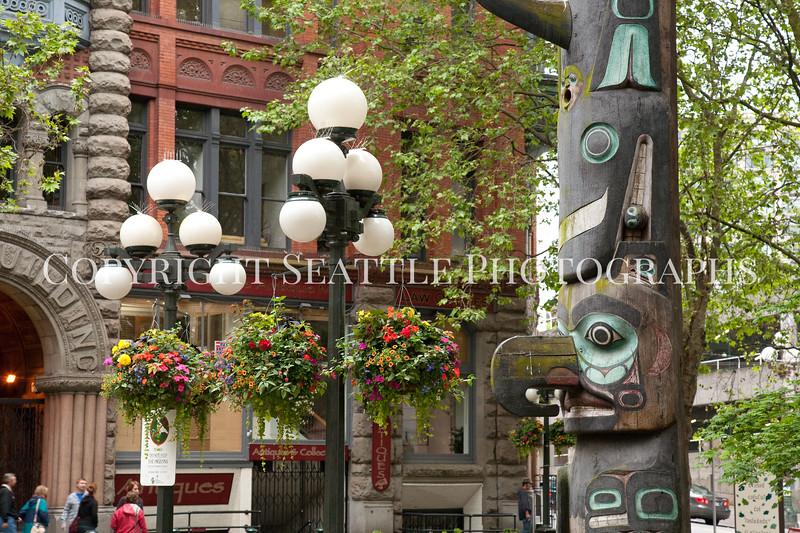 Pioneer Square Totem Pole 119