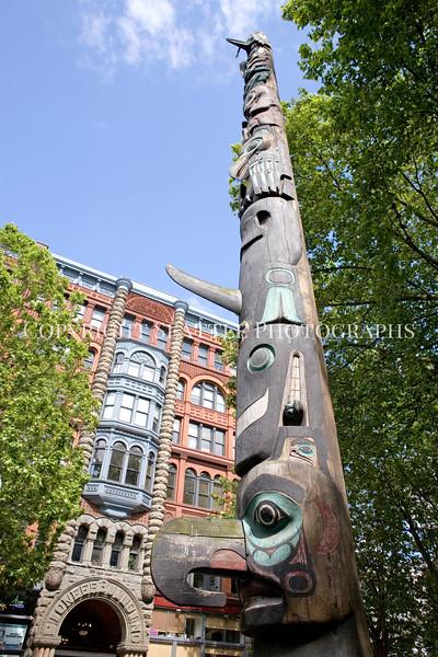Pioneer Square Totem Pole 106