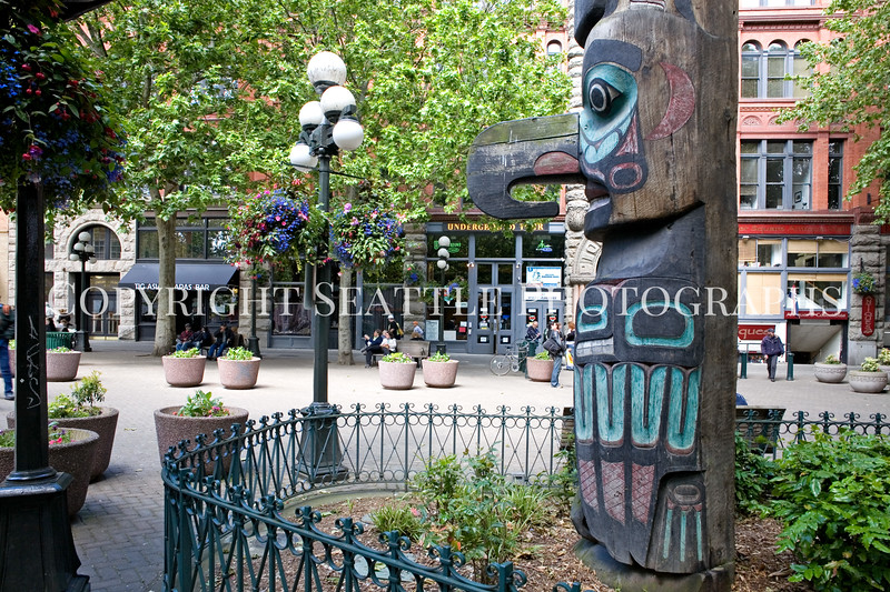 Pioneer Square Totem Pole 103