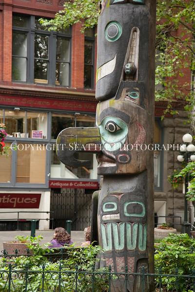 Pioneer Square Totem Pole 111