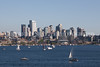 Downtown Seattle from Gasworks Park 101