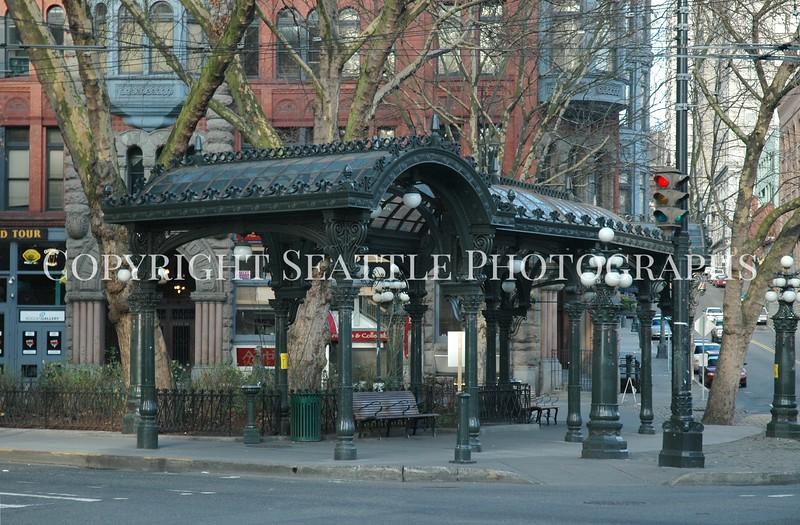 Pioneer Square Pergola 36