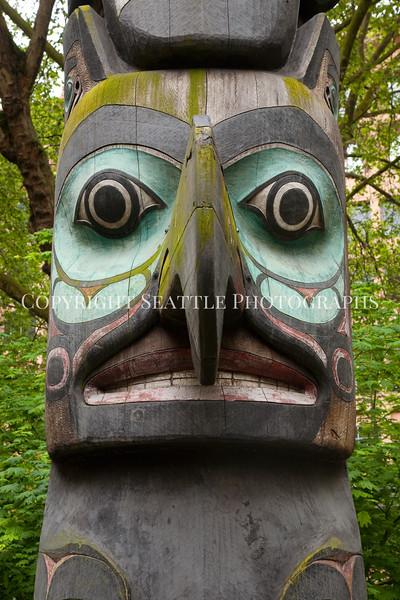 Pioneer Square Totem Pole 117